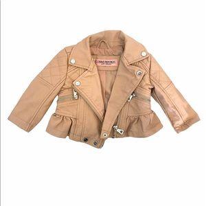 Urban Republican baby girl bike jacket.